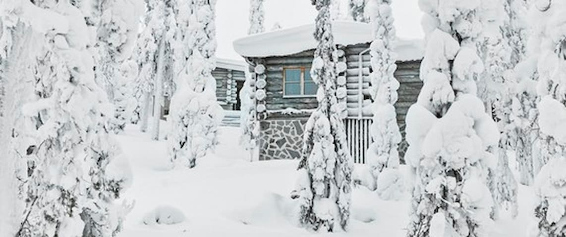 Keloruka Cottage, First Class cabin, best location - Kuusamo - Dağ Evi