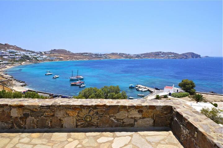 Mykonos 4 Bedroom Villa with unlimited Sea View - Agios Ioannis Diakoftis