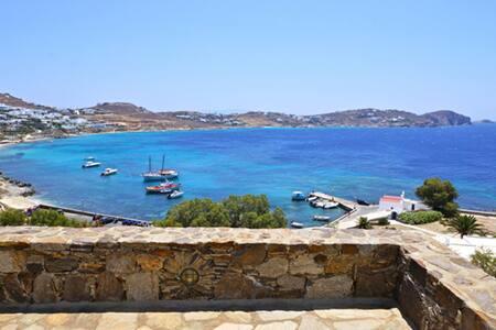Mykonos 4 Bedroom Villa with unlimited Sea View - Agios Ioannis Diakoftis - Villa