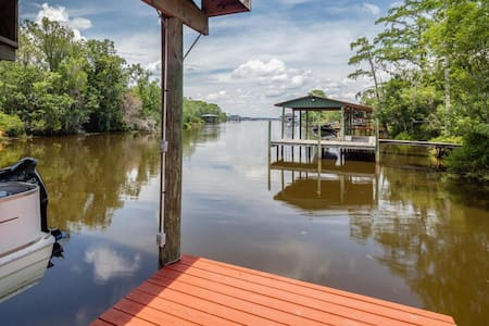 Private Studio detached homey water access & pool - Middleburg - Casa