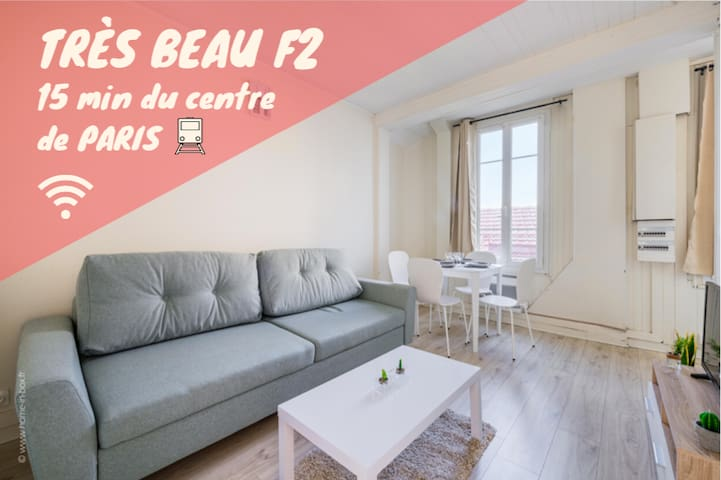 COSY AND CHARMING 2 ROOM APARTMENT