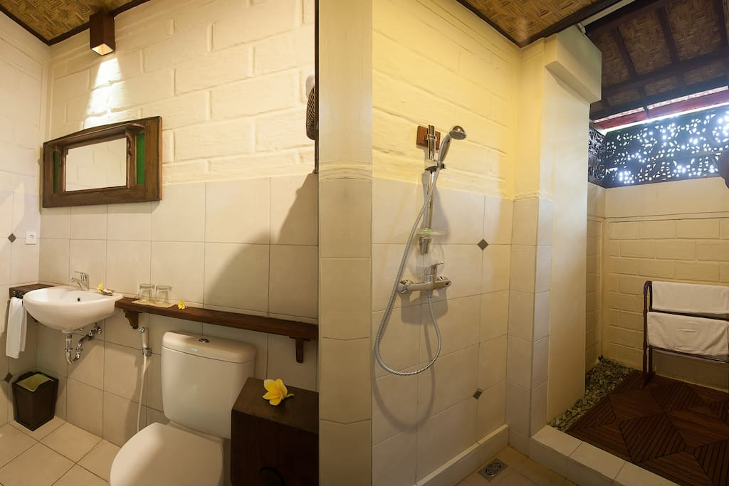 Clean Bathroom and toilet with high standard sanitary