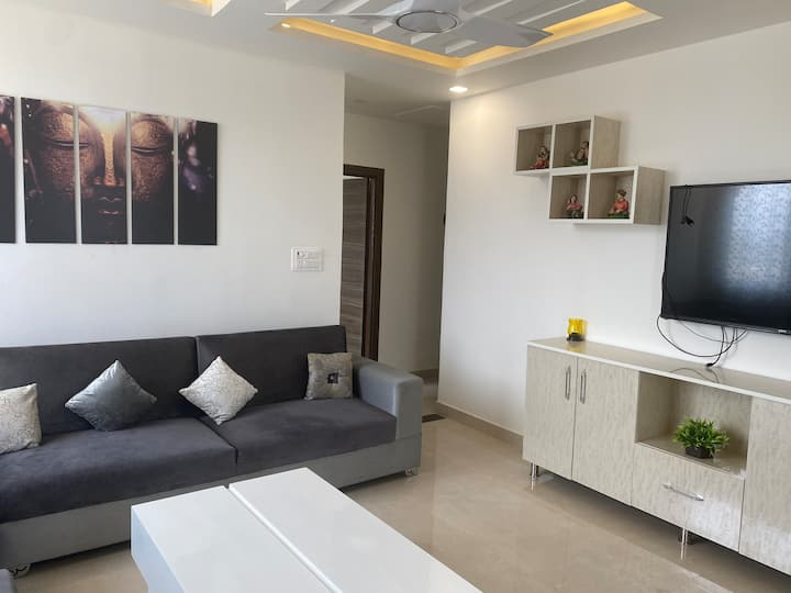 River & valley view luxurious 2bhk + huge terrace