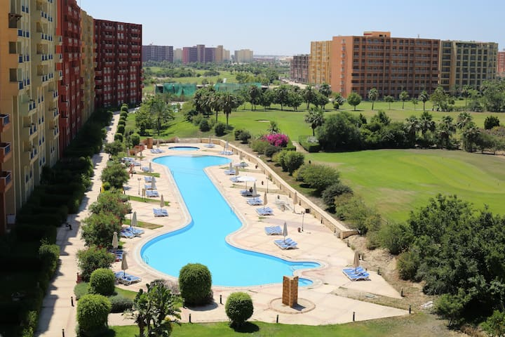 Apartment with great view in Golf Porto Marina - Marina El Alamein - Apartament