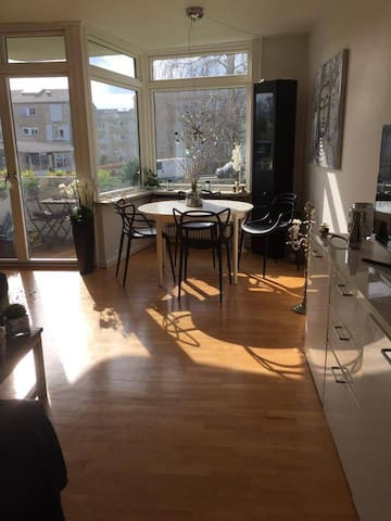 Sunny apartment only 15 min from Copenenhagen - Gentofte - Lägenhet