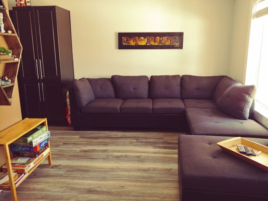 Try out a board game or chill on the comfy couch and watch a movie.