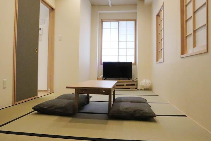 名古屋駅 /徒歩 和室 Japanese style 最大4名 日本 ささしまライブ 畳 和モダン