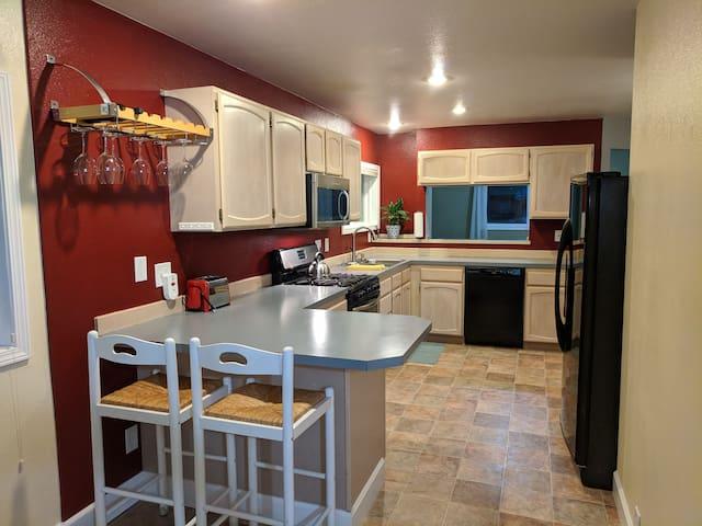 Modern, Private & Cozy, recently updated duplex