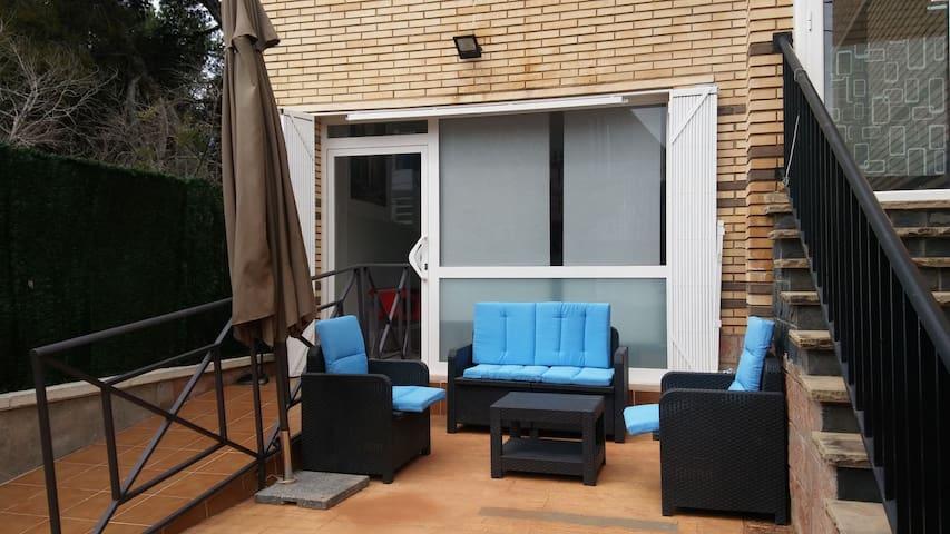 Privado. PLAYA apartamento Cerca de Barcelona