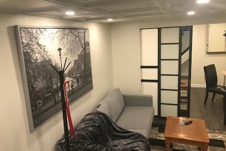 cozy apartment with loft bed