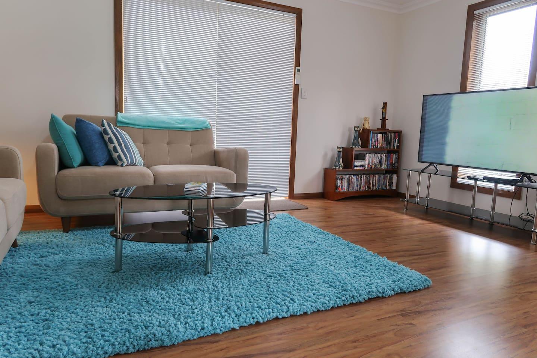 Comfy lounge area