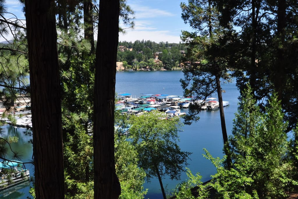 """""""A Big House On The Lake"""". Unit 15 Lot 121. Pine Mountain Lake, Lakefront Vacation Rental offered by Yosemite Region Resorts."""