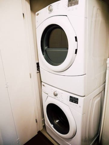 Full-size, separate washer / dryer