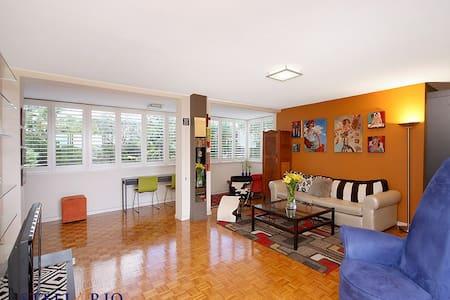 Spacious Apartment (very quiet -  3km from CBD) - Norman Park