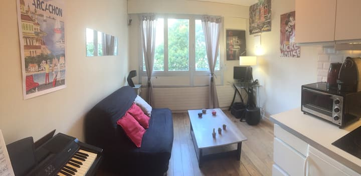 Studio très chaleureux et Lumineux. Paris 6. 25m2