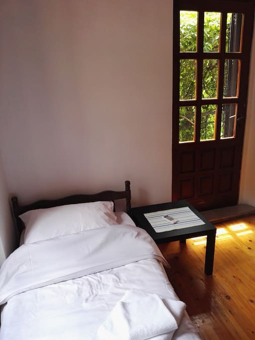 Room downstairs with direct access to the terrace