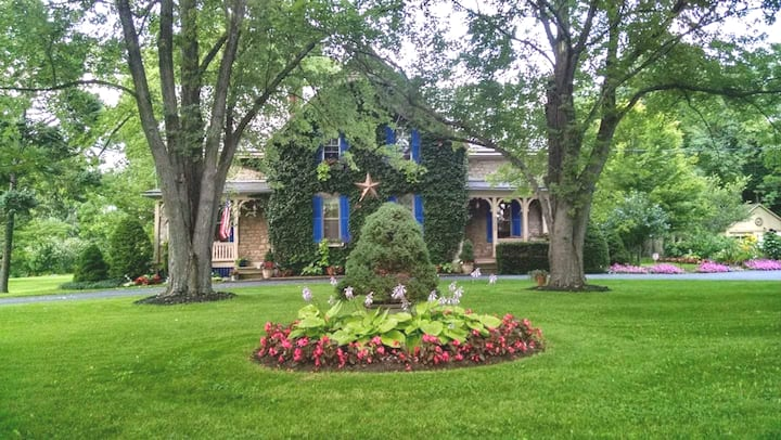 Greystone Manor 2-19th Century Stone Farmhouse