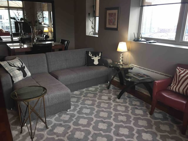 DOWNTOWN; WALK TO EVERYTHING:  LUXURY 2-BED CONDO