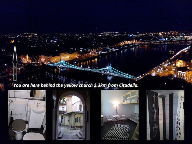 b&w HOUSE near city center, WIFI, near Bikes - Budapest - Rumah