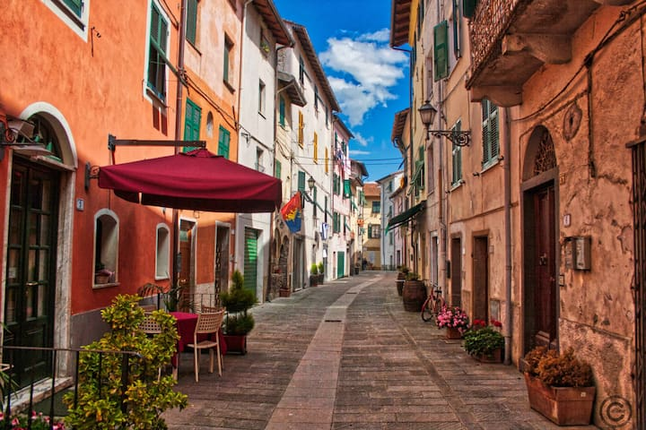 Close to 5terre  in a peaceful ligurian village