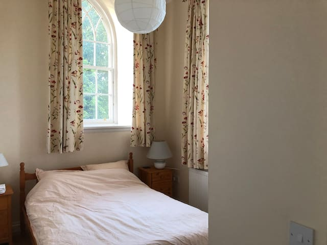 Characterful double room in renovated chapel!