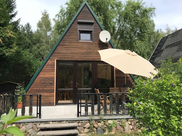 Natur Pur am Helenesee: Finnhütte Rehwiese