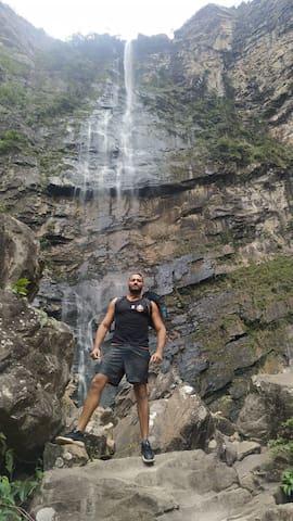 Um super passeio em trilhas cachoeiras e muito mai