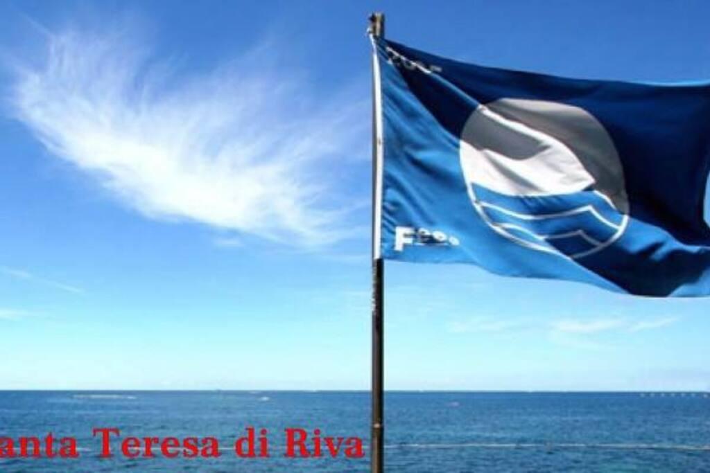 bandiera blu per il mare