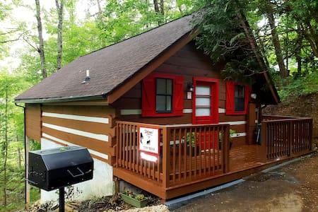 Pet Friendly Studio Cabin- Hidden Mtn West near PF