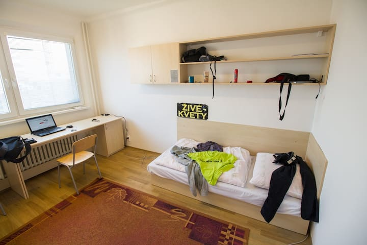 bedroom for 1 person - Bratislava - Internat