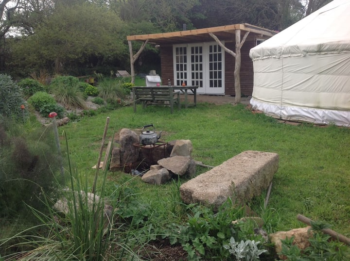 Wall Farm yurt hideaway