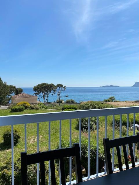 Charmant studio vue mer à proximité de la plage