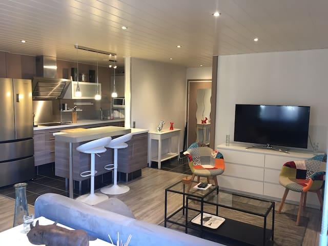 Duplex hyper centre - Albertville - Apartment