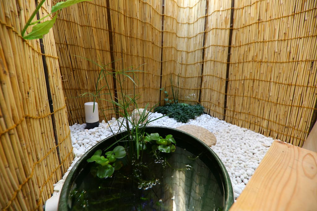 歡迎來到「庵iori」! Small garden Маленький сад