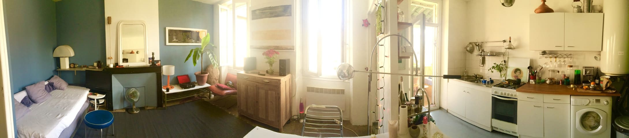 Very cosy calm and clear appartment - Marseille - Apartment