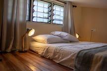 Floor mattress in loft