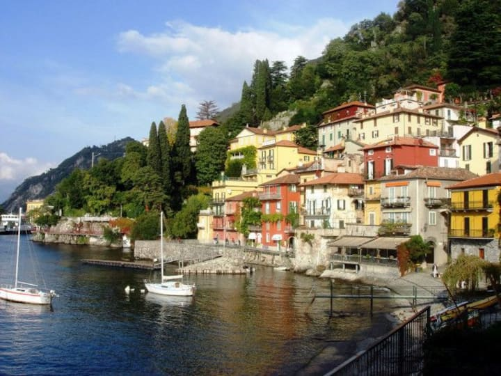 Lake Como:  Apartment in the hills above Varenna