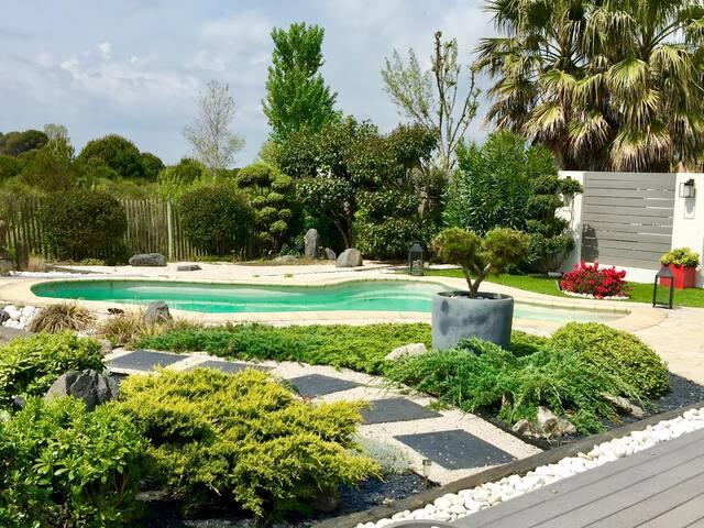 Villa contemporaine avec piscine. 300m de la plage - La Grande-Motte - Villa