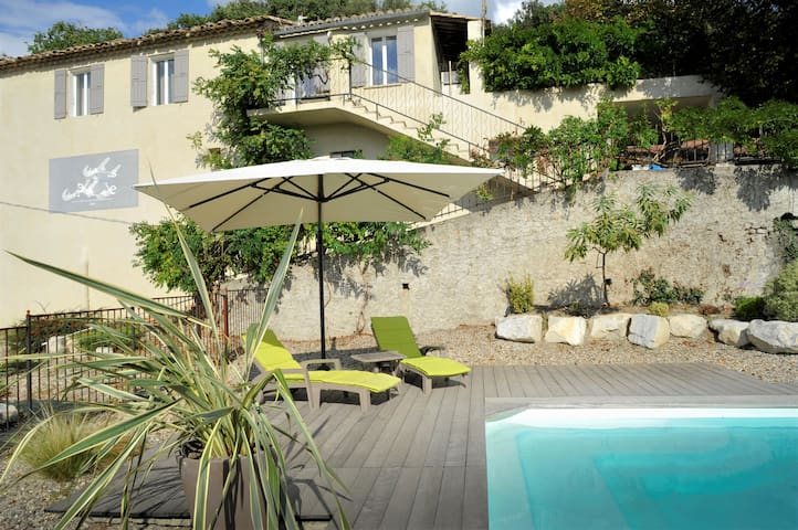 House w/ private pool near Ventoux - Entrechaux - House