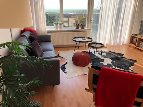 Appartement Romte met prachtig uitzicht.