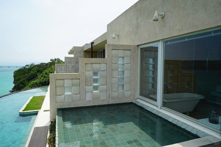 Ocean Front Resort Villa in Okinawa (TYPE 3: 52㎡)