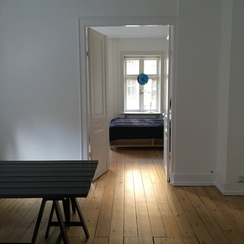 Large private room in Vesterbro