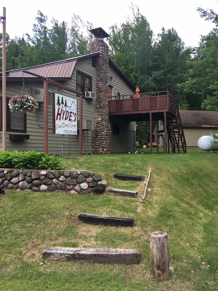 Pike Lake Chain, Clean,Affordable, ATV, Sleeps 10