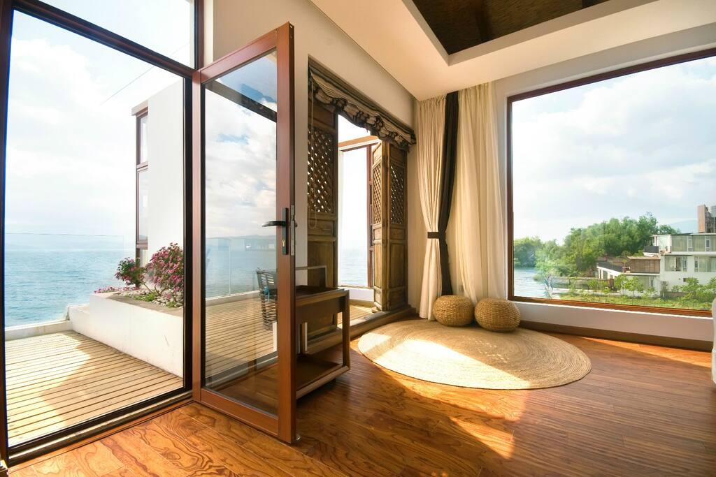 360度豪华海景大套房-露台