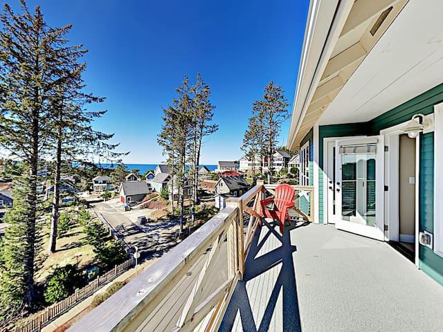 Brand-New Custom Home w/ Decks & Ocean Views