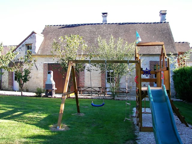 Charming holiday home Ceriseraie north of Paris - Orrouy