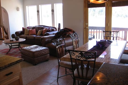 Beautiful, well decorated home on the Golf Course - Angel Fire - Casa