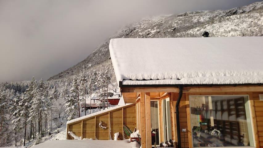 Cosy cabin in Herand Hardangerfjord nearTrolltunga