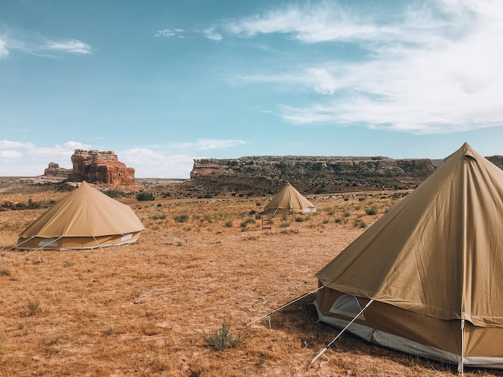 Wander Camp Moab Tent #4