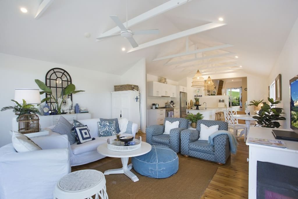 Main open plan living area